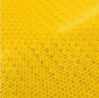 Светоотражающая пленка для дорожных знаков 3М серии 7931 желтая (1220мм x 45,7м) лента для дорожных