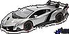 Машинка на радиоуправлении S.X toys Lamborghini Veneno, 1:14