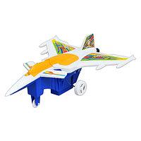 Заводная игрушка Самолет 977 в пакете