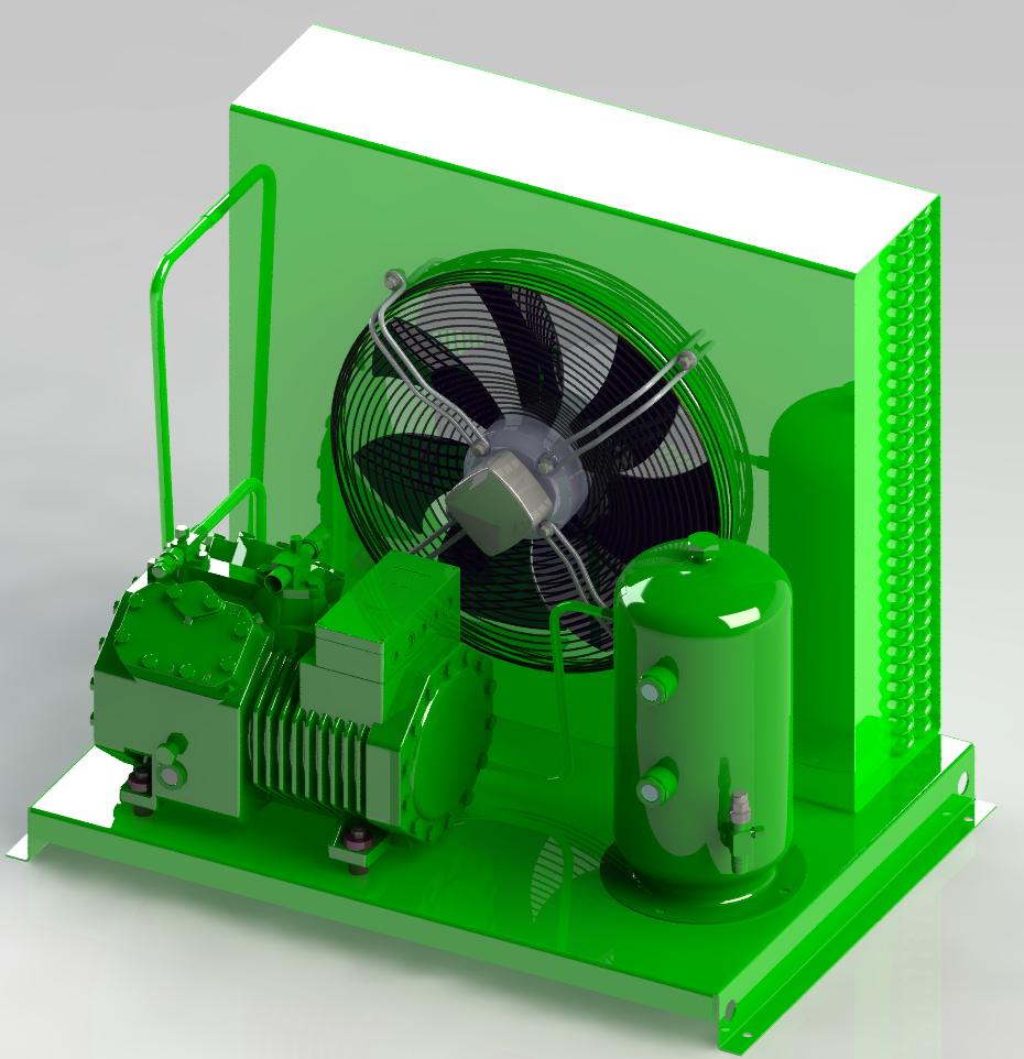 Агрегат холодильный AKP-B2M-2EES3