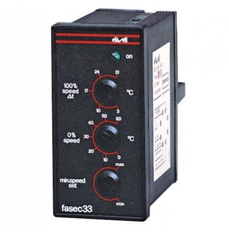 Регулятор скорости вращения вентилятора однофазный FASEC 33 Eliwell