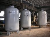 Корпус фильтра с наружным обогревом для нефтехимической промышленности D=500 мм, P=0, 85 Мпа
