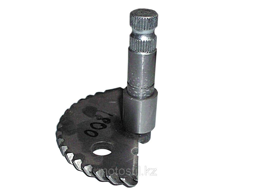 Сектор кик-стартера (полумесяц длинный h-70 mm.)  /двигатель 4T 139QMB