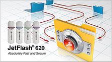 USB flash (флешка)  Transcend 16 гб, фото 3