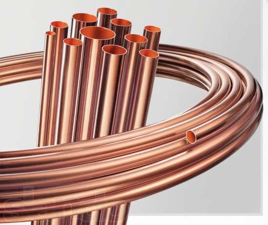 Медная труба PVC 15 х 1 х 50000