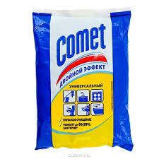 Чистящее Комет 350 гр порошок в мягкой упаковке