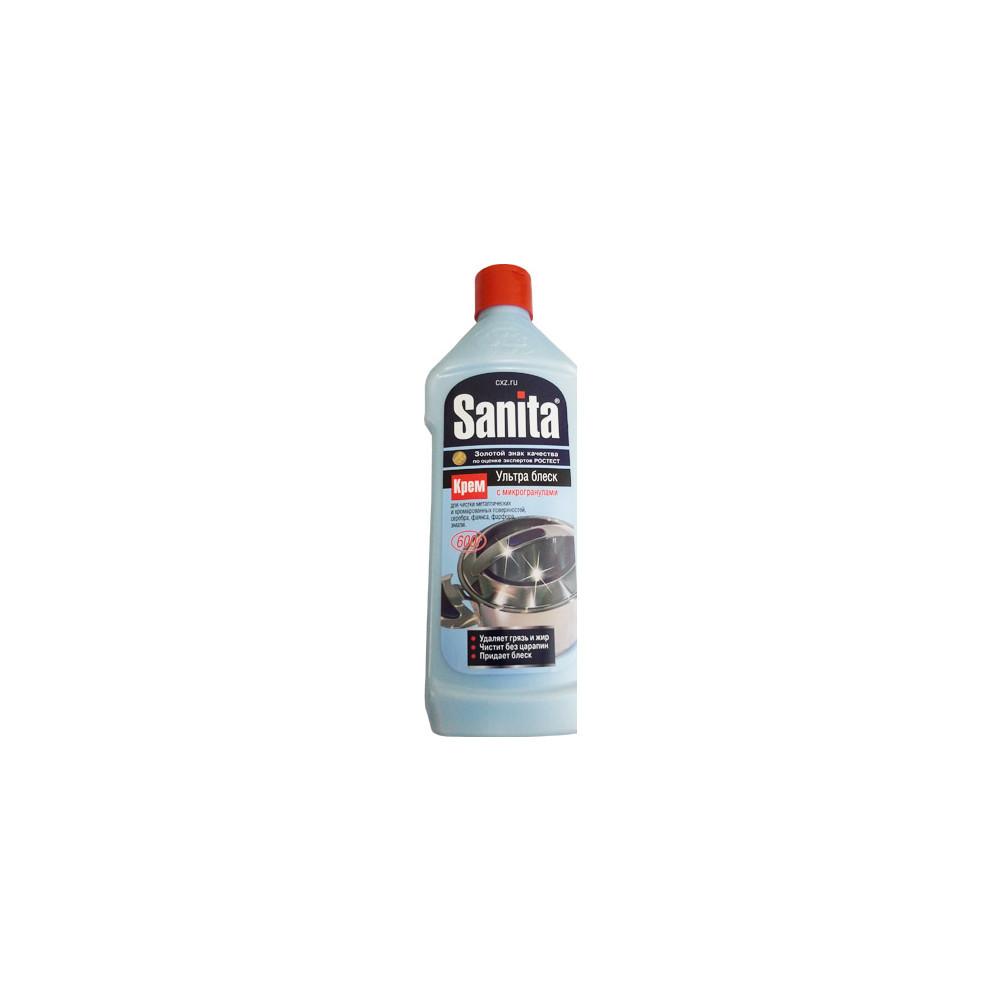 Чистящее для стеклокерамики Sanita 600гр