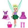 Феи, кукла с волосами и платьем