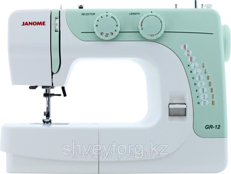 Бытовая швейная машина  Janome GR-12