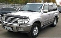 Накладка на передний бампер Toyota Land Cruiser 100
