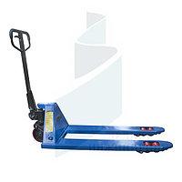 Гидравлическая тележка GROST GT2.5-115B (синий цвет)