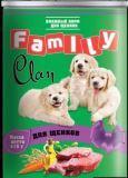 Clan Family 415г консервы для щенков., фото 1