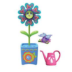 """Игровой набор Magic Blooms """"Волшебный цветок с жучком и заколкой"""""""
