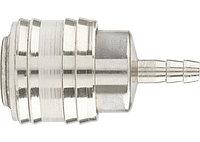 """(57052) Муфта универсальная быстросъемная (""""мама""""),, со штуцером """"елка"""" под шланг 6 мм, 2 шт. // Stels"""