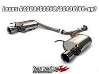 Выхлопная система Tanabe на Lexus GS 06-11 GS350 GS430 GS460