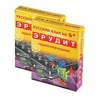 Настольная игра БИПЛАНТ 10008 Эрудит подарочный набор