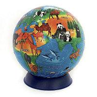 Шаровой 3D пазл Обитатели Земли. Сувенир-головоломка. 240 деталей, фото 1