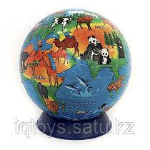 Шаровой 3D пазл Обитатели Земли. Сувенир-головоломка. 240 деталей
