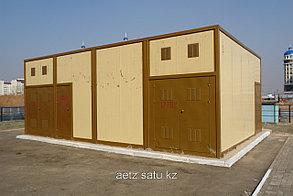 Блочная комплектная трансформаторная подстанция БКТП 2*630-10(6)/0,4 кВа