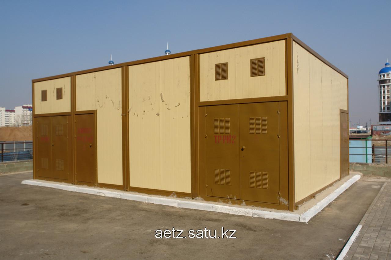 Блочная комплектная трансформаторная подстанция БКТП 2*1600-10(6)/0,4 кВа
