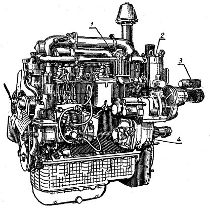 Ремонт двигателей Д 144, Д 242