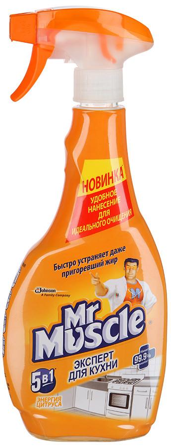 Средство Mr Muscle эксперт для кухни Энергия цитруса 500 мл