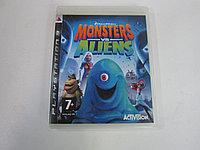 Игра для PS3 Monsters vs Aliens (вскрытый), фото 1