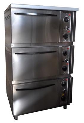 Шкаф жарочный ШЖЭП-3 трехсекционный