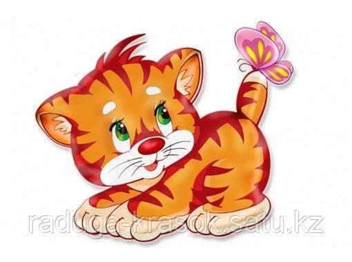 "Картины по номерам ""Рыжий котенок"""