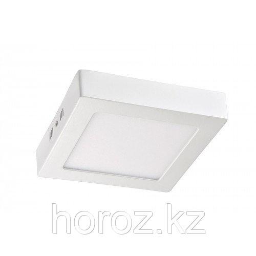Светодиодный светильник Horoz Electric 15 Вт (накладной), квадратный