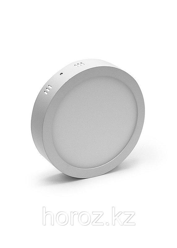 Светодиодный светильник Horoz Electric 12 Вт (накладной), круглый