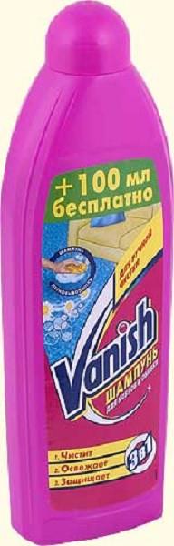 Шампунь для ковров Vanish 3в1 750мл ручной