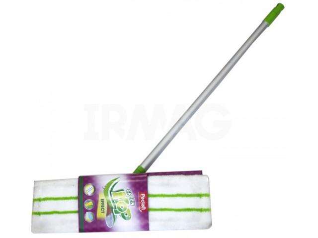Швабра Паклан - Paclan Mop Effect с плоской насадкой ручка телескопическая