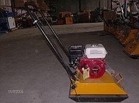 Виброплита ХЗР-120 (двигатель Хонда), фото 2