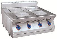 Плита электрическая ЭПК-47Н четырехконфорочная без жарочного шкафа (полностью нерж, серия 700), фото 1
