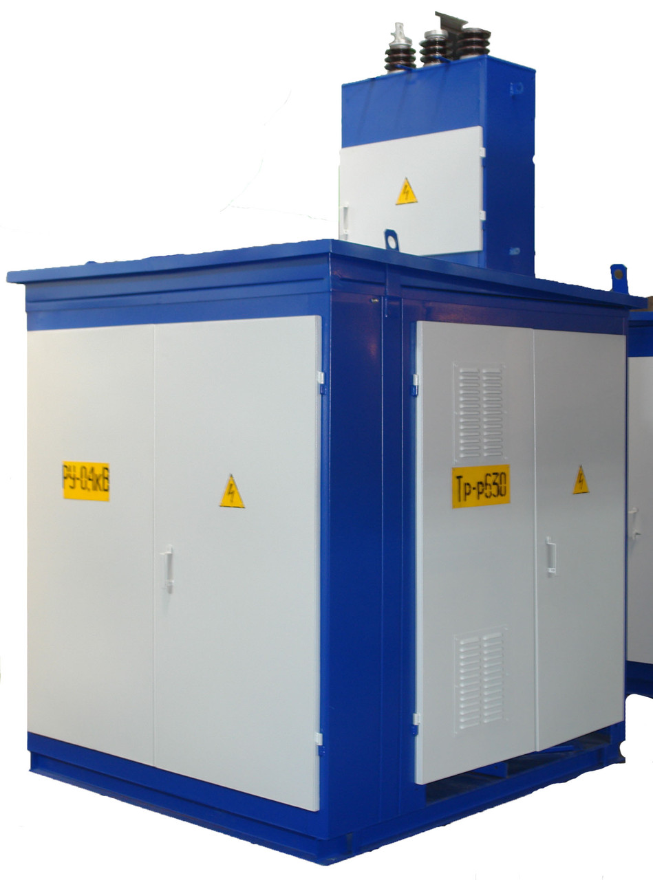 Комплектная трансформаторная подстанция наружной установки КТПН 25-10(6)/0,4 кВа