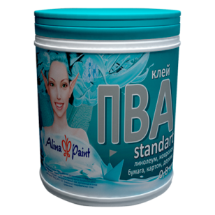 Клеи ПВА Alina Paint Standart 0,8кг.