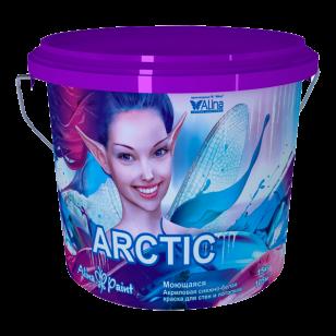 Водоэмульсионные моющиеся краски Alina Paint Arctic 1 кг