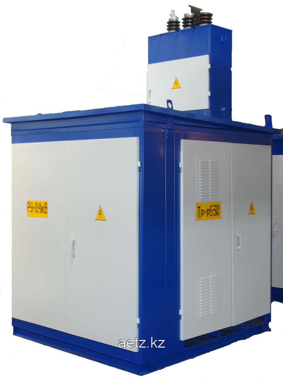 Комплектная трансформаторная подстанция наружной установки КТПН 400-10(6)/0,4 кВа