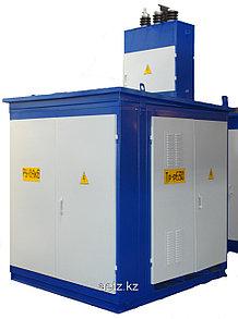 Комплектная трансформаторная подстанция наружной установки КТПН 630-10(6)/0,4 кВа