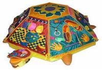 Черепаха с сенсорным чехлом