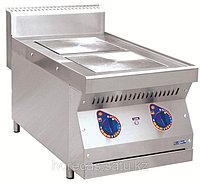 Плита электрическая ЭПК-27Н двухконфорочная без жарочного шкафа (полностью нерж, серия 700), фото 1