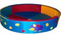 Сухой бассейн круглый с ежиком