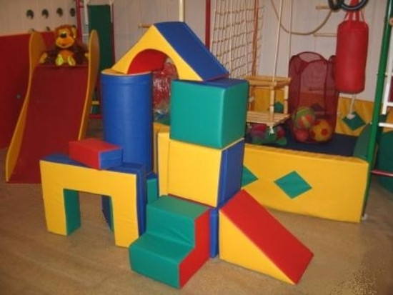 Мягконабивное оборудование и мягкие модули для детского сада