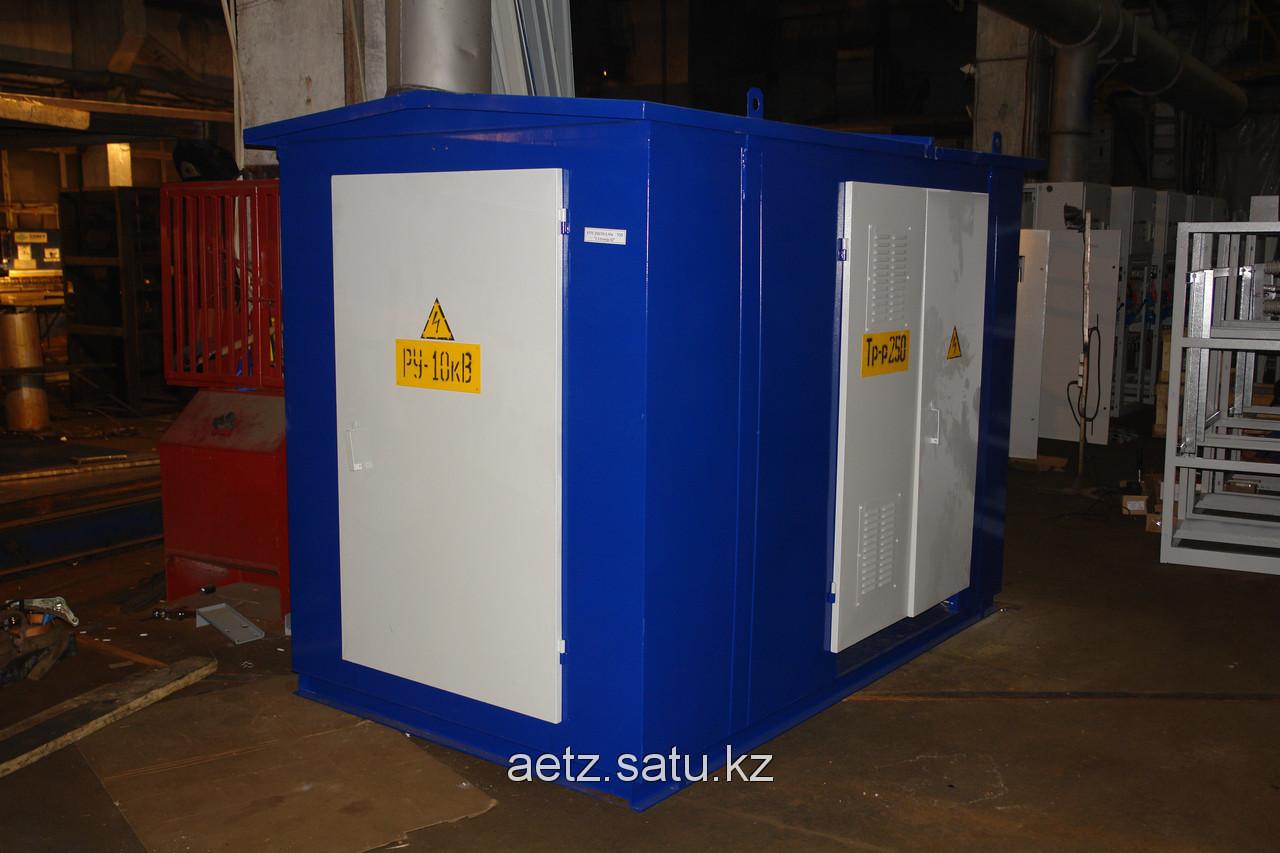 Комплектная трансформаторная подстанция городского типа КТПГ 250-10(6)/0,4 кВа