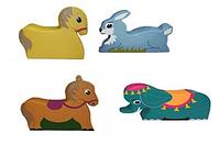 Детский игровой набор «Зоопарк»