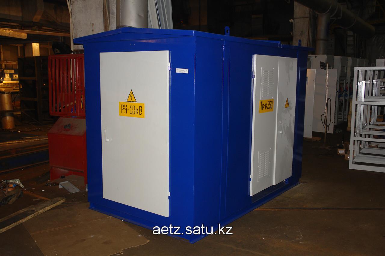 Комплектная трансформаторная подстанция городского типа КТПГ 1600-10(6)/0,4 кВа