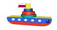 Детский игровой пароход