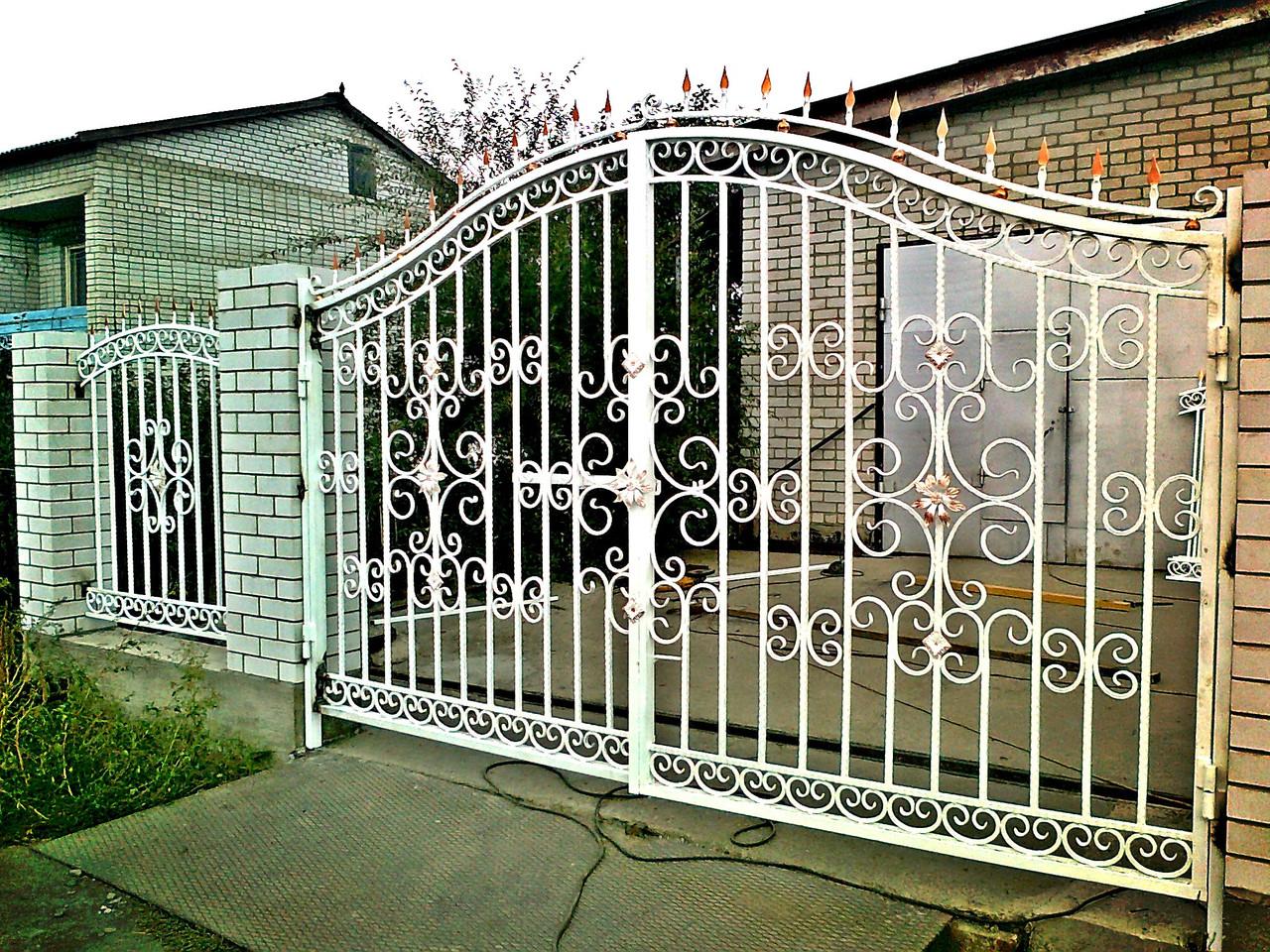 Забор и ворота усть каменогорск фото