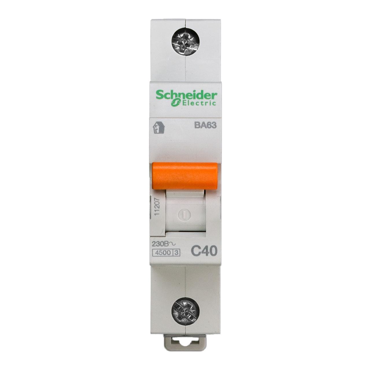 11207 Автоматический выключатель  ВА63 1п 40A  C